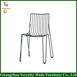 2016 New model replica bertoia metal wire outdoor chair coffee shop