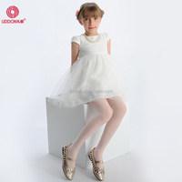 Fashion style 40 Denier knitting in stock pantyhose online wholesale kids girls in sheer transparent nylon tights