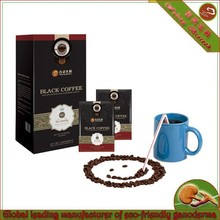 black coffee with ganoderma ultrafine powder