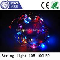 10M 100 LED Addressable Programmable Full Color Holiday Decoration LED String Light christmas led strip light outdoor use