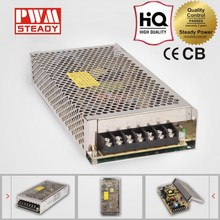 high quality S-145 145w switching power supply SMPS 12v 12a DC LED street light power driver / power adapter
