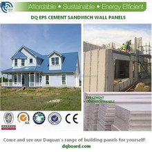2015 China green life EPS cement sandwich block precast wall and roofing panel