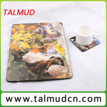 Best Promotional mdf placemat and coaster sets with round edge