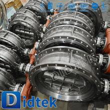 Didtek Heating lug high performance butterfly valve