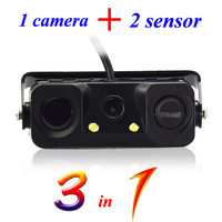 Hot sell mounting waterproof reversing camera with 2 sensors low MOQ