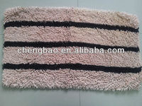 Fashion indoor shaggy chenille mats