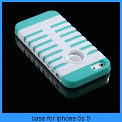 Mic case for iphone 5 PC Shockproof Dirt Dust Proof Hard Matte Cover Case For iPhone 5 5S(PT-I5257)