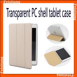 Ultra Thin Case For iPad MIni 1 2 Three Plates Fold Cover For iPad MIni Stand Leather Flip Case For iPad Mini 2 3