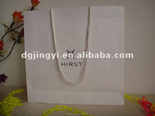 Fashional Eco-friendly White Kraft Paper Bag for Garment Wholesale