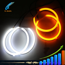 2015 Super brightness led car cotton angel eyes headlights halo for bmw