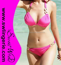 Promotional top quality sexy young bikini swimwear
