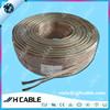 China manufacturer hot sale Transparent speaker cable for speaker