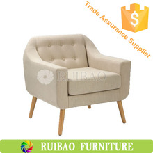 2015 Whole Sale Living Room Furniture One Person Fabric Sofa Chair