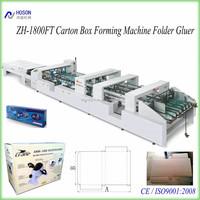 ZH-1800FT Automatic Folding Corrugated Carton Box Folding and Gluing Machine