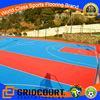 2015 Gridcourt outdoor portable university basketball floor tile