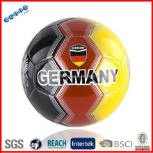 Machine stitched custom logo print size 3 soccer ball