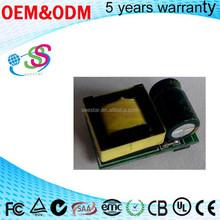 led power supply manufacture 3-5V 600MA 3 watt led driver