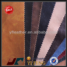 china new design pu crazy horse sofa leather