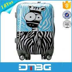 Hot selling fashion children cartoon luggage wholesale
