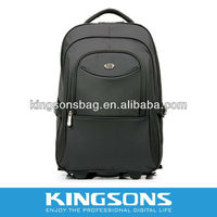 """2013 New Arrival 15.6"""" 1680D Nylon Notebook trolley backpack bag K8380W"""