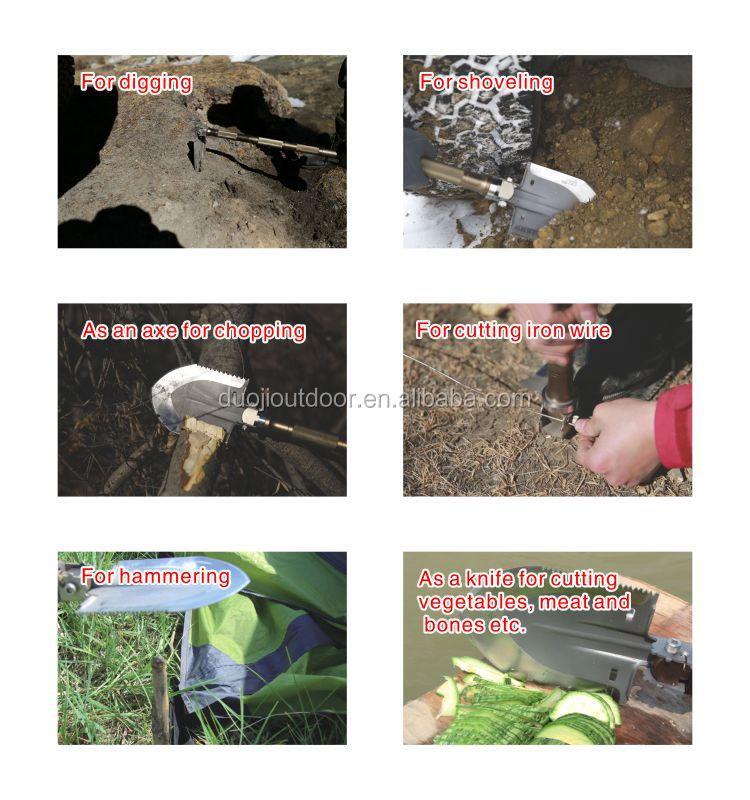 Путешествия Набор Инструментов/Инструмент Для Ремонта Шин/Многофункциональный Лопата соединиться с Fire starter