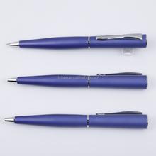 Dark Blue Metal Twist Action Ball Pen