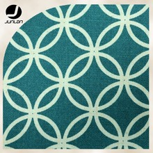 Ovals Style/Direct From Manufacturer Woven Print Linen Fabric