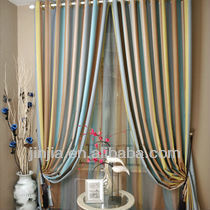curtains of windows drapery for polyester voile lace embroidery
