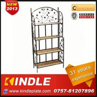 OEM/Custom Metal wall nail polish rack display from kindle in Guangdong with 32 Years Experience and High Quality