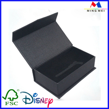 Ridid square cardboard jewellery display boxes packaging/jewelry box for pearl beads