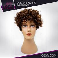 Export Quality Unprocessed Brazilian Kinky Curl Wigs For American African Women