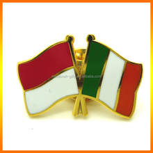 Wholesale Professional Factory 2014 China For Metal Flag Pin Badge For Countries