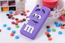 Unique Cute 3D Silicone phone case oem is welcome phone case for apple iphone 4s 4c