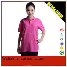 Pink t--shirt in summer