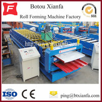 Double Roofing Panel Sheets Sandwich Roll Forming Machine