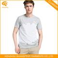 Llano negro camisetas para hombre
