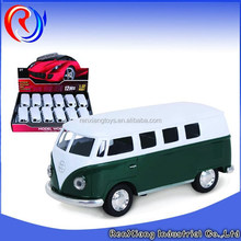 1:32 diecast bus pull back metal bus toy