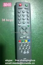 38 keys 2040 gray TV remote control China flying baloon fish 2*AAA battery kymera Magic wand remote control Computer Use RF USB