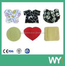 Cute color printed band aid / plaster strip
