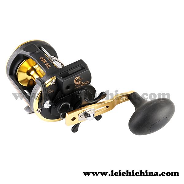 Saltwater trolling fishing reel with line counter buy for Line counter fishing reels