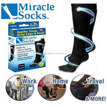 Soothe Tried, Achy Legs & Feet ! Miracle Socks Stovepipe Anti-Fatigue Compression Socks Miracle Socks
