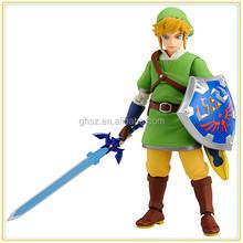 Customized The Legend of Zelda gaming figure resin link figure