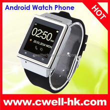 Smart Watch Phone ZGPAX S6 Android 4.0 3G WCDMA 1.0GHZ MTK6577 Dual Core 4GB ROM 512MB Bluetooth Camera Smart Watch Phone