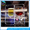 Beer Mug, Red Wine Glass Cocktail Bottle Liquid 3D TPU Case for iPhone 5 5s 6 /6 Plus