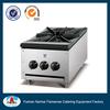 Stainless steel body restaurant equipment gas stove