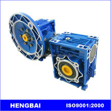 NMRV+NMRV double stage worm gear speed reducer with high quality