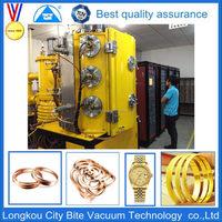Gold Chain Jewellery Magnetron Vacuum Chrome Coating Machine