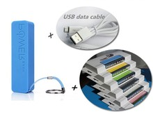 Perfume 2600mAh power bank Mini Battery Bank portable external battery charger backup powerbank carregador de bateria portatil