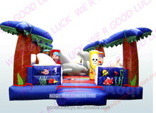 jumping castle/ circus mini inflatable bouncer inflatable toboggan slide /inflatable castle /inflatable bouncer