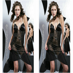 Latest gown designs women transparent gown sexy ling sexy long gown & sexy dress